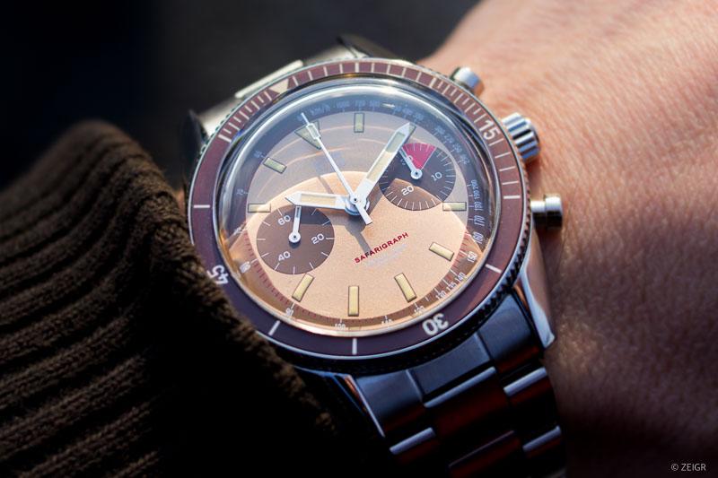 HTD Safarigraph Chronograph Bi-Compax Wristshot