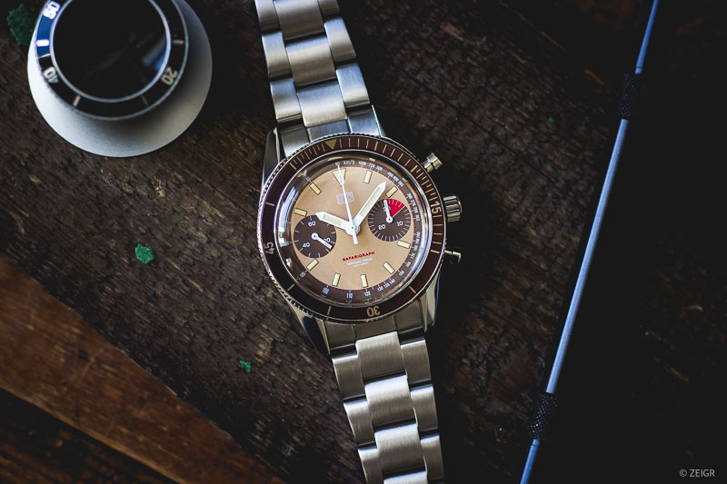 HTD Safarigraph Chronograph Bi-Compax