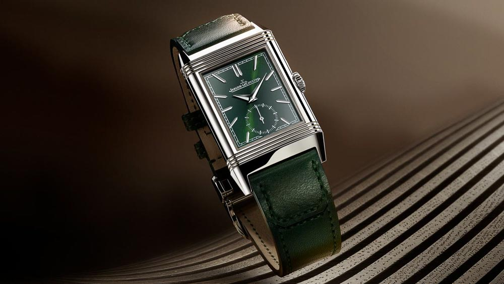 Watches and Wonders 2021 - Jaeger LeCoultre Reverso Grün