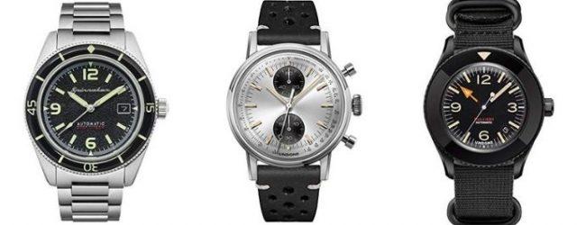 Aktuelle Fundstücke Microbrands Uhren Undone Spinnaker