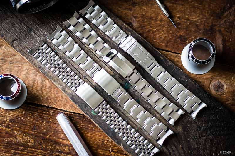 Rolex-Armband wechseln Oyster Jubilee & Co