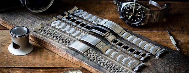 Uhrenarmbänder Metall Edelstahl Ersatzbänder Rolex Oyster Jubilee