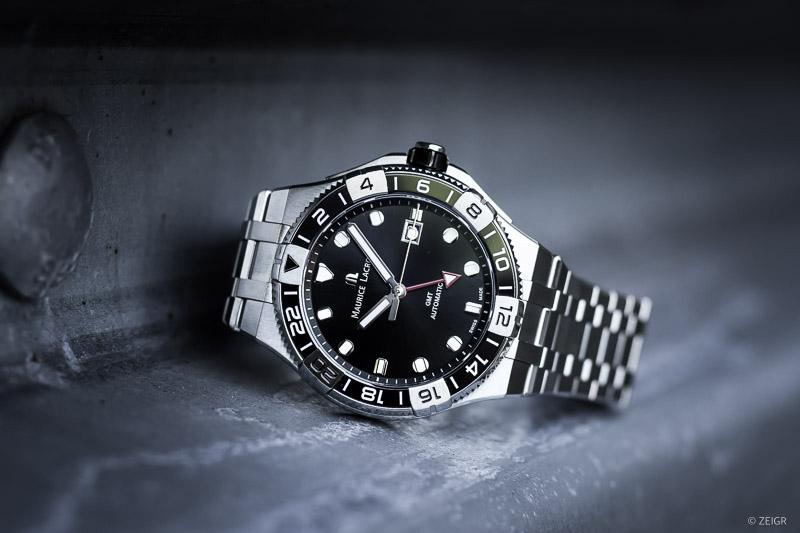 AIKON Venturer GMT 2021 schwarz Stahlband