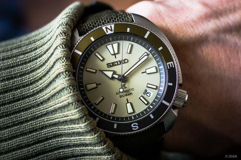 Seiko Prospex Turtle Tortoise Land SRPG13K1 - Wrist shot