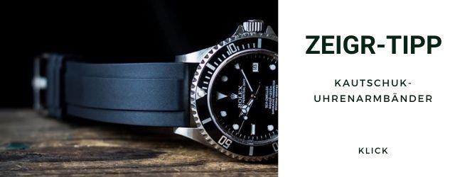 Kautschuk Uhrenarmband Rolex Sea-Dweller 16600 Shop